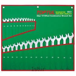 عکس تجهیزات تعمیرات بدنهسری آچار یکسر 12 عددی تاپ تول