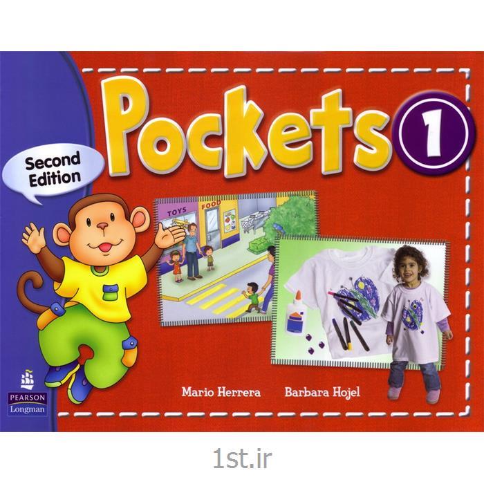 کتاب آموزش زبان1 Pockets برای خردسالان به همراه کتاب کار و سی دی