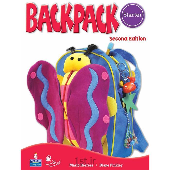 کتاب آموزش زبان کودکان بک پک Back Pack سطح starter<