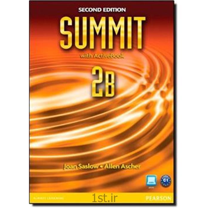 کتاب آموزش زبان انگلیسیNew summit سطح 2B