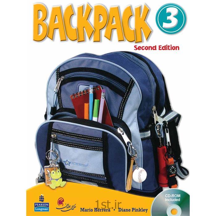 کتاب آموزش زبان کودکان بک پک Back Pack سطح 3