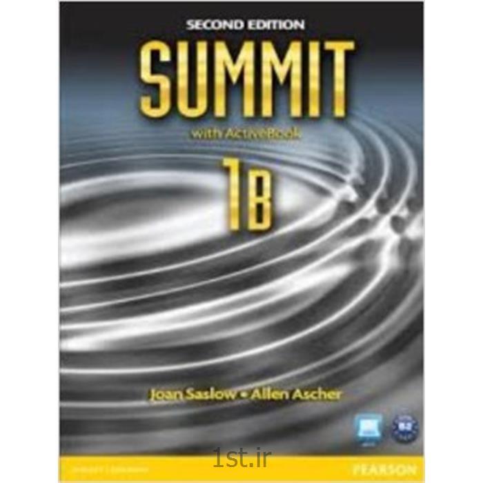 کتاب آموزش زبان انگلیسیNew summit سطح 1B<