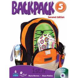 کتاب آموزش زبان کودکان بک پک Back Packسطح 5