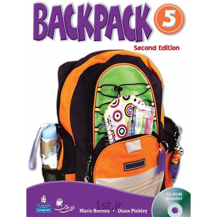 عکس کتابکتاب آموزش زبان کودکان بک پک Back Packسطح 5