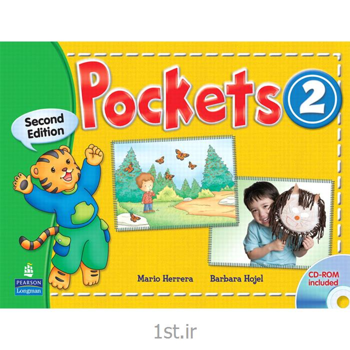 عکس کتابکتاب آموزش زبان 2 Pockets برای خردسالان به همراه کتاب کار و سی دی