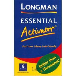 دیکشنری لانگمن اکتیویتورLongman Essential Activator