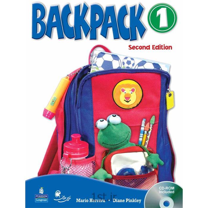 عکس کتابکتاب آموزش زبان کودکان بک پک Back Pack سطح 1
