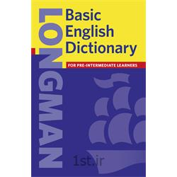 عکس کتابدیکشنری لانگمن عمومی Longman Basic English Dictionary
