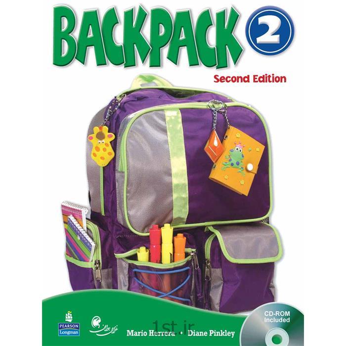 عکس کتابکتاب آموزش زبان کودکان بک پک Back Pack سطح 2
