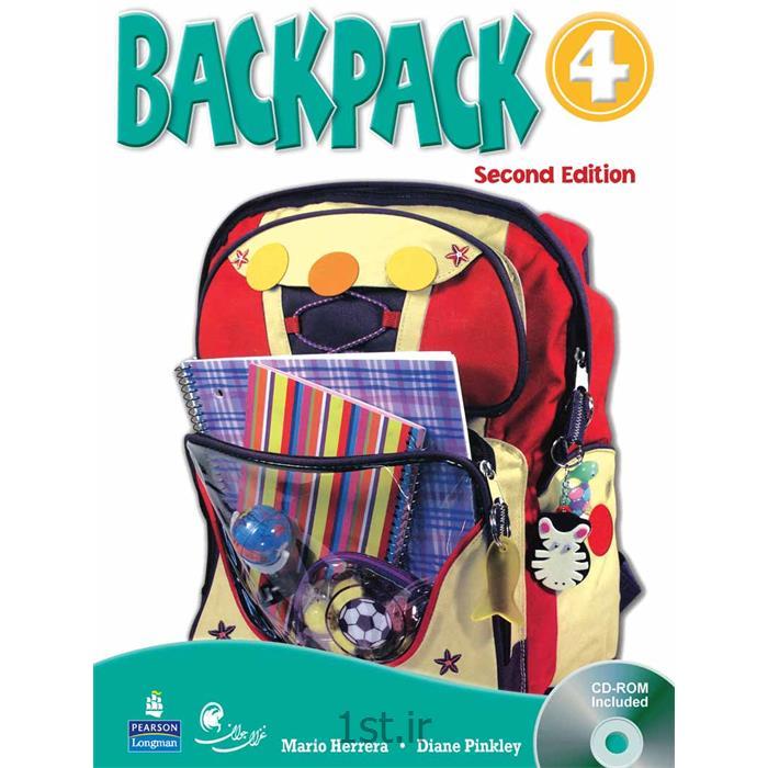 عکس کتابکتاب آموزش زبان کودکان بک پک Back Pack سطح 4