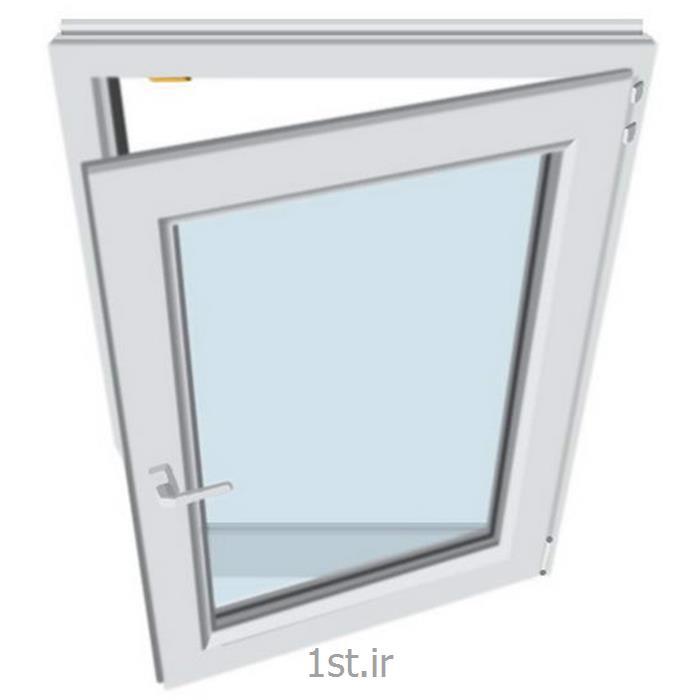عکس پنجرهپنجره تک حالته دو جداره (UPVC)