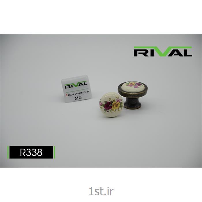 عکس دستگیره مبلماندستگیره تک پیچ ریوال مدل R338