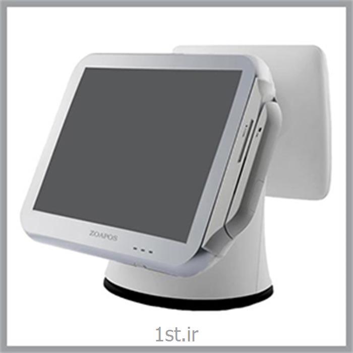 عکس مانیتور صفحه لمسی ( Touch Screen Monitors )صندوق فروشگاهی لمسی ZOA POS مدل z p100
