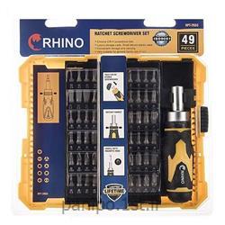 عکس مجموعه ابزارهای دستیمجموعه 49 عددی سری پیچ گوشتی رینو مدل RPT-2933