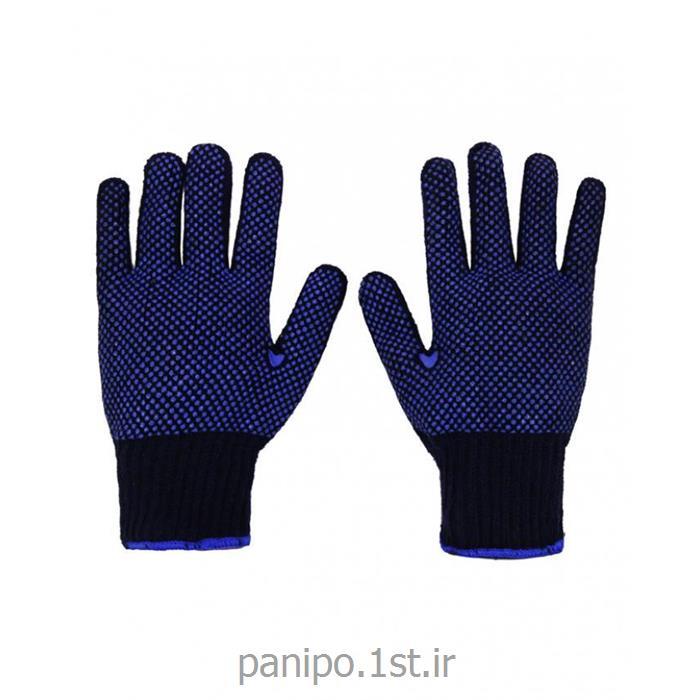 دستکش پارچه ای با روکش گریپ دار