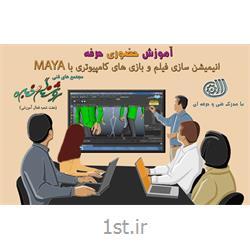 آموزش حضوری حرفه انیمیشن سازی فیلم و بازی های کامپیوتری با MAYA