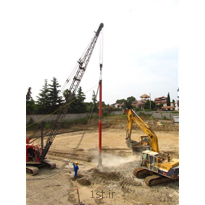 عکس سایر محصولات خاک برداری و زیر سازیستون شنی