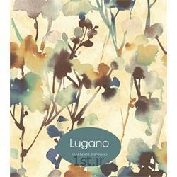 عکس کاغذ دیواری و دیوار پوشکاغذ دیواری آبرنگی مدرن Lugano خارجی جهت نشیمین و پذیرایی