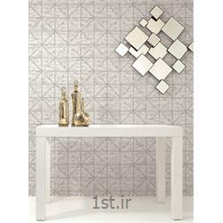 کاغذ دیواری طرح هندسی قابل شست شو آمریکایی لوگانو Lugano