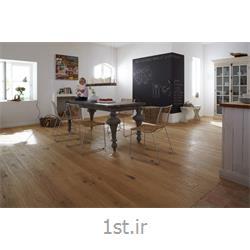 عکس کفپوش چوبیپارکت چوب 100 درصد طبیعی کف ساختمان گونه بلوط و گردو سولو وود SoloWood