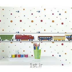 کاغذ دیواری اتاق نوزاد پسر و دختر Growing Up Kids