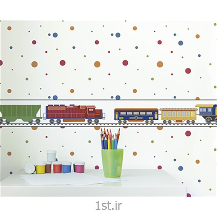 عکس کاغذ دیواری و دیوار پوشکاغذ دیواری اتاق نوزاد پسر و دختر Growing Up Kids
