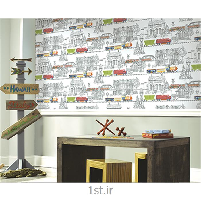 عکس کاغذ دیواری و دیوار پوشکاغذ دیواری اتاق کودک و نوجوان Growing Up Kids