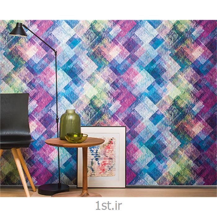 عکس کاغذ دیواری و دیوار پوشکاغذ دیواری طرح هندسی قابل شست شو فرانسه جریکو Jerico