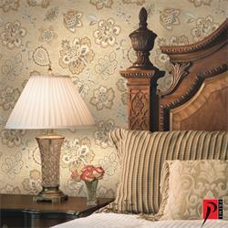 کاغذ دیواری طرح دار و ساده اتاق خواب منزل پرایم والز PrimeWalls