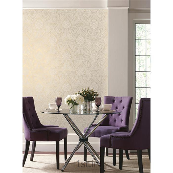 عکس کاغذ دیواری و دیوار پوشکاغذدیواری گل دار اتاق پذیرایی لومییز لوندرز Luminous lavender