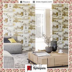 عکس کاغذ دیواری و دیوار پوشکاغذ دیواری مدرن فرانسوی Prime