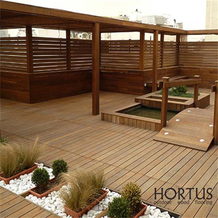 عکس سایر چوب های ساختمانیچوب فضای بیرونی بادوام Hortus