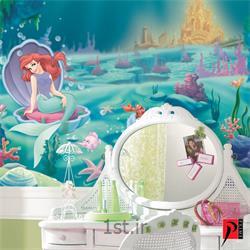 عکس کاغذ دیواری و دیوار پوشپوستر دیواری اتاق کودک دخترانه آلبوم دیزنی