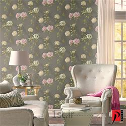 عکس کاغذ دیواری و دیوار پوشکاغذ دیواری طرح دار اتاق و سالن پذیرایی و نشیمن پرایم والز Prime Walls