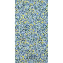 کاغذ دیواری گل دار برجسته قابل شستشو آمریکایی PrimeWalls