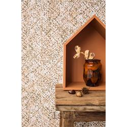 کاغذ دیواری مدرن طرح دار اتاق پذیرایی و نشیمن پرایم والز (PrimeWalls)