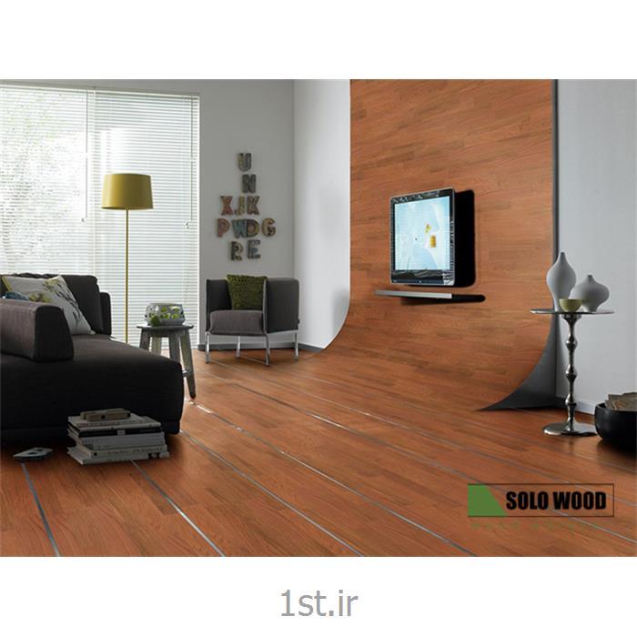 کفپوش های پارکت جاتوبا تمام چوبی 100% طبیعی تک لایه سولو وود SoloWood