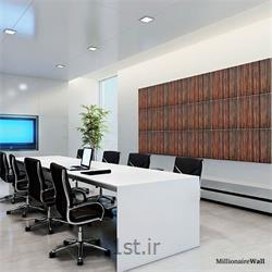 عکس کاغذ دیواری و دیوار پوشدیوارکوب چوبی اداری Millionaire