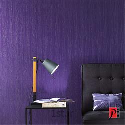 کاغذ دیواری مسکونی خانگی جدید قابل شست و شو رنگ بنفش Pentimento