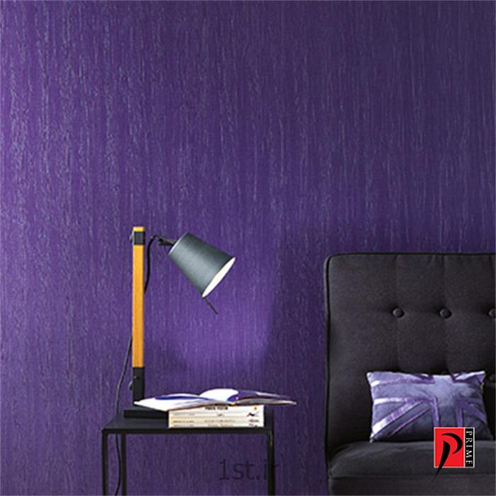 عکس کاغذ دیواری و دیوار پوشکاغذ دیواری مسکونی خانگی جدید قابل شست و شو رنگ بنفش Pentimento