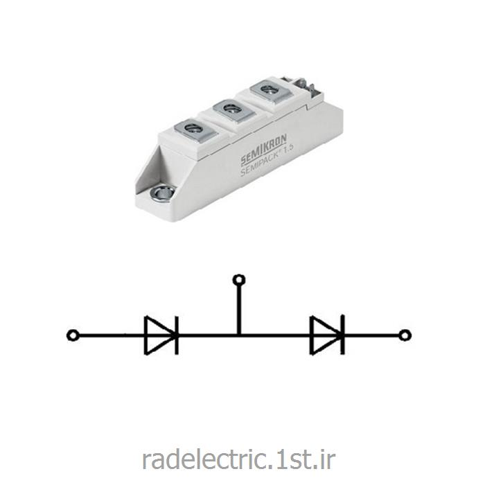 عکس دیوددیود دوبل 46 آمپر  Rectifier Diode Modules