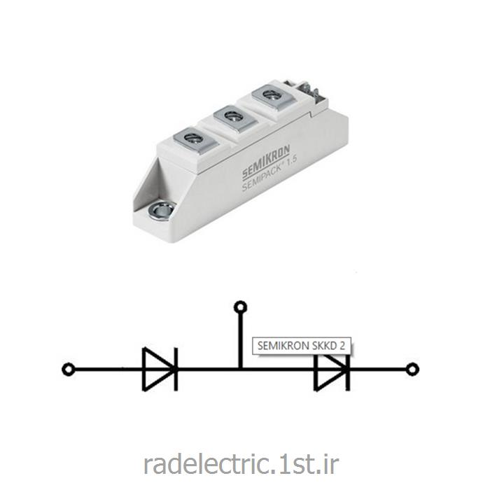 عکس دیوددیود دوبل 26 آمپر Rectifier Diode Modules