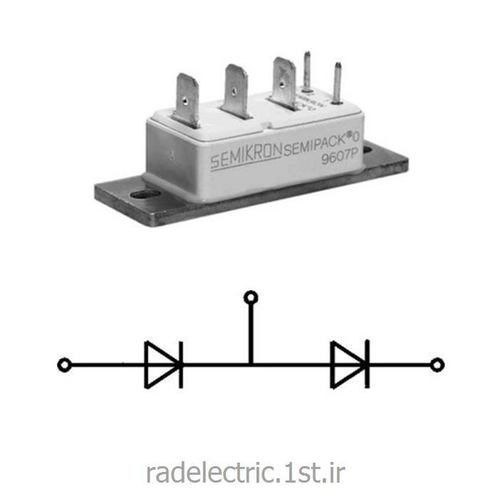 عکس دیوددیود دوبل 15 آمپر     Rectifier Diode Modules