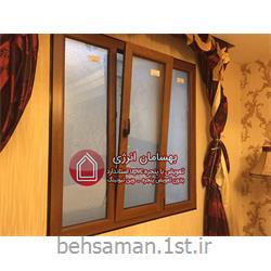 پنجره دوجداره upvc وینتک لبه دار