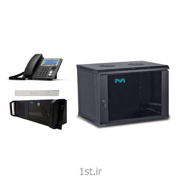 عکس محصولات تلفن اینترنتی ( VoIP )مرکز تلفن IP (مرکز تماس) با 8 خط شهری